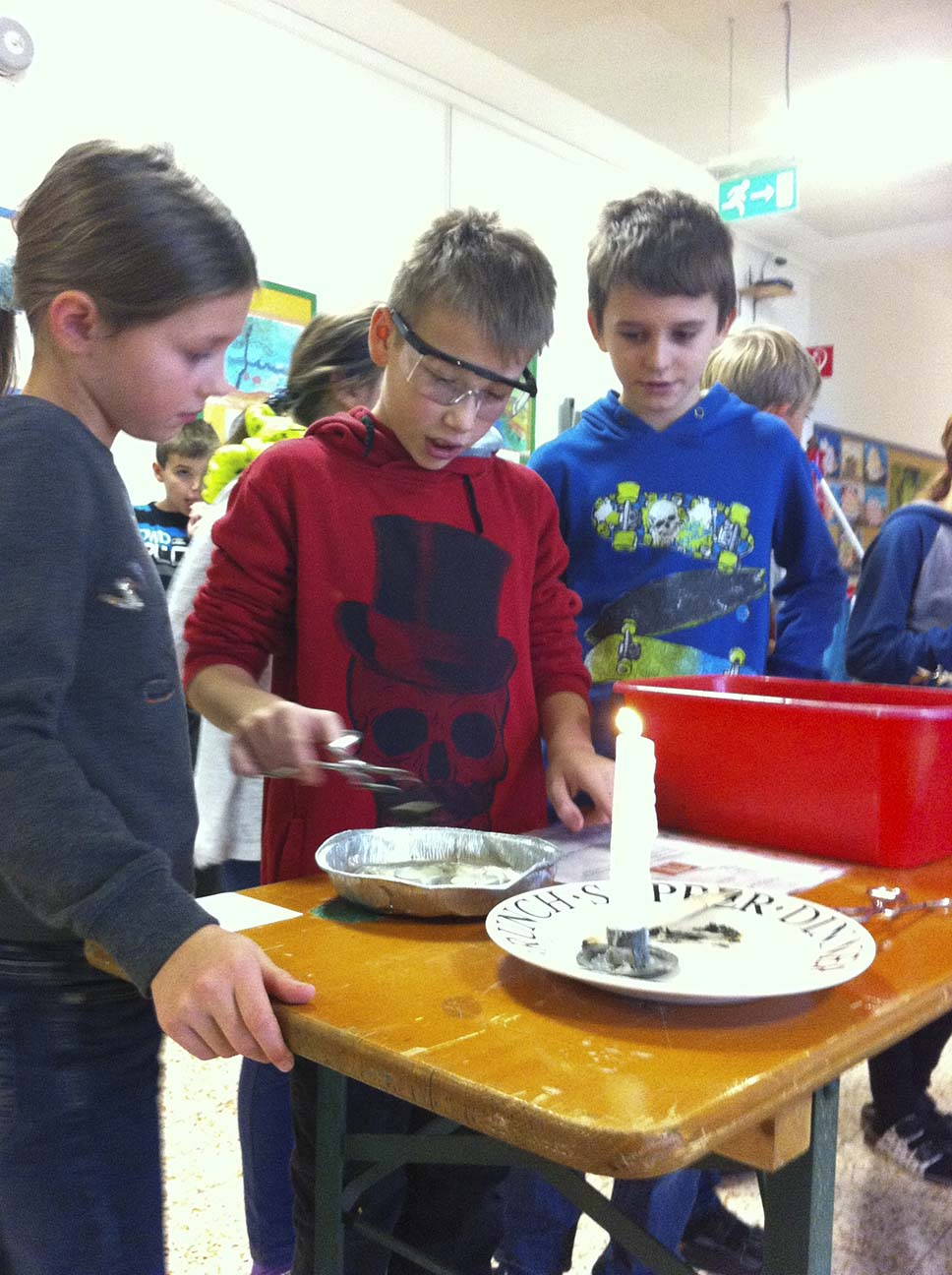 Schüler/innen der NMS, der VS und der Kindergarten Kirchberg arbeiten zusammen